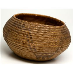 Washoe Basket NV - Washoe County, - c1900-50 - 2012aug - Cowboy & Native American