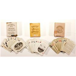Souvenir Playing Cards AK - c1900 - 2012aug - Gaming
