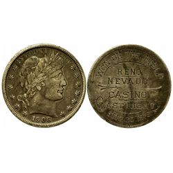 Night Gaming Closed in Reno Coin NV - Reno,Washoe County - 1910 - 2012aug - Gaming