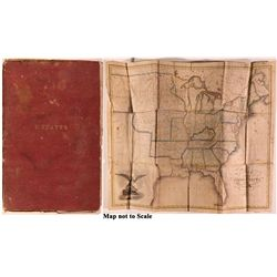 1826 Pocket Map of United States 1826 - 2012aug - General Americana