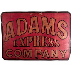 Adams Express Company Sign 2012aug - General Americana