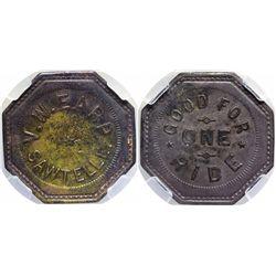Earp Token, Good For a Ride  - , - c1902 - 2012aug - General Americana