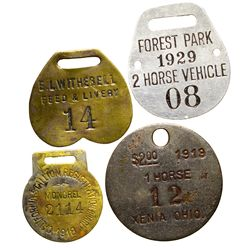 Horse & Wagon Licenses 2012aug - General Americana