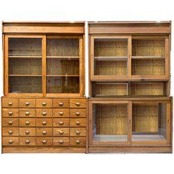Large Oak Display Cabinets  - , -  - 2012aug - General Americana