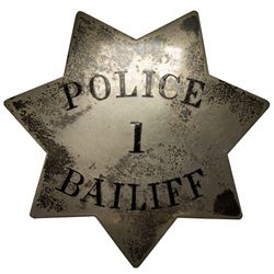Police Bailiff Badge 2012aug - General Americana