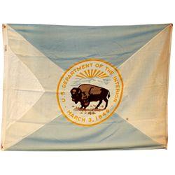 United States Department of the Interior Flag c1948 - 2012aug - General Americana
