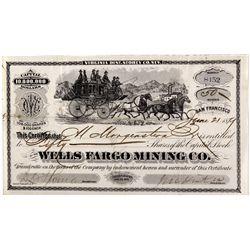 Wells Fargo - Mining Stock NV - Virginia City,Storey County - 1879 - 2012aug - General Americana