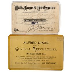 Wells Fargo & Co. Express Cards c1887 - 2012aug - General Americana