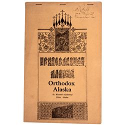 St. Michael's Cathedral Informational Booklet AK - Sitka,2012aug - General Americana