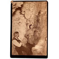 Men in Cave Photograph CA - c1880 - 2012aug - General Americana