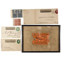 Wells Fargo Philatelic Collection CA - c1900s - 2012aug - General Americana