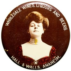 Hall and Wells Wholesale Wines, Liquors and Beers Mirror CA - Anaheim,Orange County -  - 2012aug - G