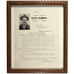 Placer County Wanted Poster CA - Auburn,Placer County - 1901 - 2012aug - General Americana