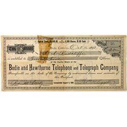 Bodie Utility Stock CA - Bodie,Mono County - 1892 - 2012aug - General Americana