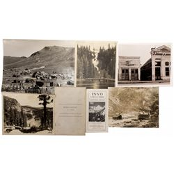 Bodie, Nevada Mono Area Photographs/Maps/Mineralogy Report Collection CA - Bodie,Mono County - 1888-