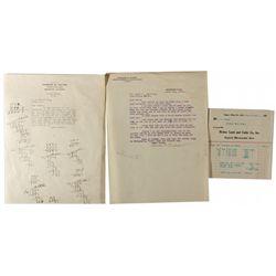Mono County Letter Trio CA - Bridgeport,Mono County - 1911, 1921, 1924 - 2012aug - General Americana