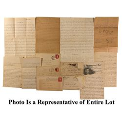 Correspondence and Letter Archive from Myron Angel to M.D. Fairchild CA - El Dorado County, - 1897-1