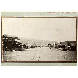 Garlock Main Street Photograph CA - Garlock,Kern County - 1898 - 2012aug - General Americana