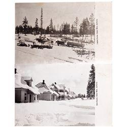 Hobart Mills Postcards CA - Hobart Mills,Nevada County - c1930 - 2012aug - General Americana