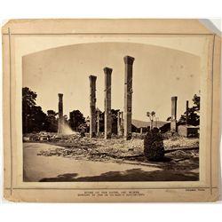 Del Monte Hotel Photograph CA - Monterey, - 1887 - 2012aug - General Americana