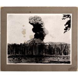 Mt. Lassen Eruption Photograph CA - Mt. Lassen,2012aug - General Americana