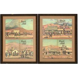Mounted Desert Magazine Covers CA - Palm Desert,Riverside County - 1960 - 2012aug - General American