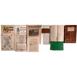 Placerville Druggist's Papers CA - Placerville,El Dorado - 1922-24 - 2012aug - General Americana