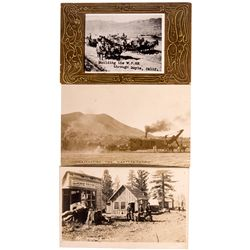 Portola Area Postcards CA - Plumas County,c1909-1910 - 2012aug - General Americana