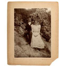 Randsburg Wedding Photo CA - Randsburg,Kern County - 1896 - 2012aug - General Americana