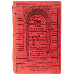 1906 San Francisco Earthquake & Fire Booklet CA - San Francisco,1906 - 2012aug - General Americana