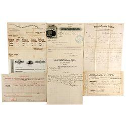 Assay & Mint Documents CA - San Francisco,1892-1914 - 2012aug - General Americana