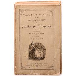 California Pioneers Publications CA - San Francisco,c1870s - 2012aug - General Americana
