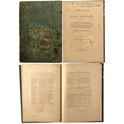 Early Sailing  Guide CA - San Francisco, - 1851 - 2012aug - General Americana