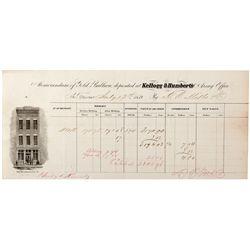 Kellogg & Humbert's Assay Memorandum of Gold Bullion CA - San Francisco,1859 - 2012aug - General Ame