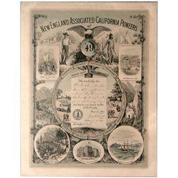 New England Pioneer CA - San Francisco,1892 - 2012aug - General Americana