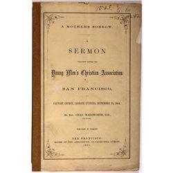 Sermon Publication CA - San Francisco, - 1864 - 2012aug - General Americana