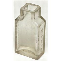 Wells Fargo & Co. Mystery Bottle CA - San Francisco,c1880 - 2012aug - General Americana