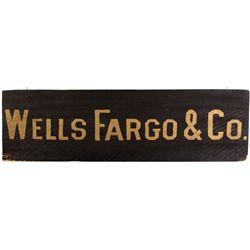 Wells Fargo Sign CA - San Francisco,c1900 - 2012aug - General Americana