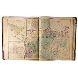 Santa Clara County Atlas CA - San Jose,Santa Clara - 1876 - 2012aug - General Americana