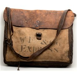 Wells Fargo Mail Bag CA - Sierraville,2012aug - General Americana