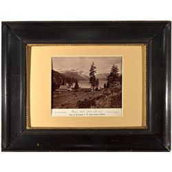 1879 Photograph of Donner Lake CA - Truckee,Nevada County - 1879 - 2012aug - General Americana
