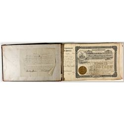 Raven Mining Co., Ltd. Stock Ledger ID - Wardner,Shoshone County - 1908-1920 - 2012aug - General Ame