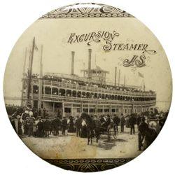 J.S. Excursion Steamer Mirror MN - La Crosse,c1910 - 2012aug - General Americana