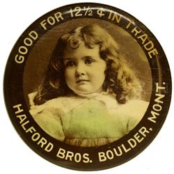Mirror Token MT - Boulder,Jefferson County - c1905-1910 - 2012aug - General Americana