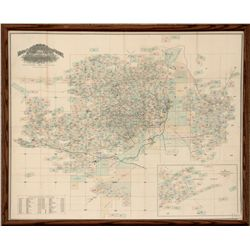 Butte Claims Map MT - Butte,Silver Bow County - 1893 - 2012aug - General Americana