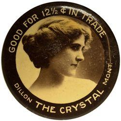 Mirror Token MT - Dillon,Beaverhead County - c1905-1910 - 2012aug - General Americana