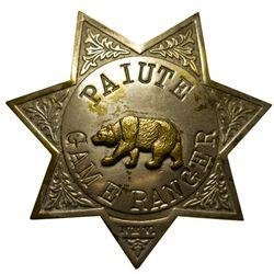 Game Ranger Badge NV - , - c1910 - 2012aug - General Americana