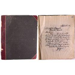 Gov. John Jones Letterbook with 443 letters NV - , - 1891-1896 - 2012aug - General Americana