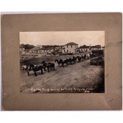 Horse Team Photograph NV - , - c1906-1916 - 2012aug - General Americana
