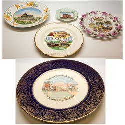 Nevada Souvenir Plates NV - 2012aug - General Americana